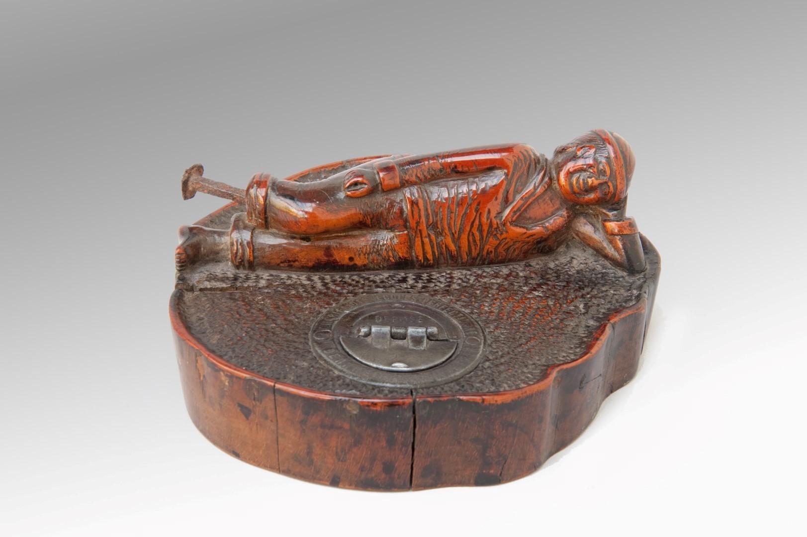 Image of Cherry-wood Inkwell