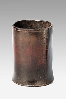 Leather Pottle Pot