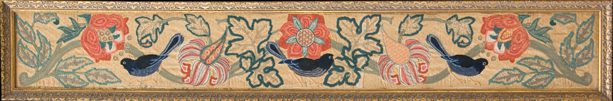 Crewel Work Panel