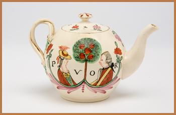 Commemorative Teapot