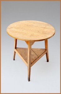 Sycamore Cricket Table