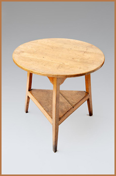 Image of Sycamore Cricket Table