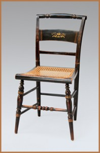 Image of Hitchcock chairs