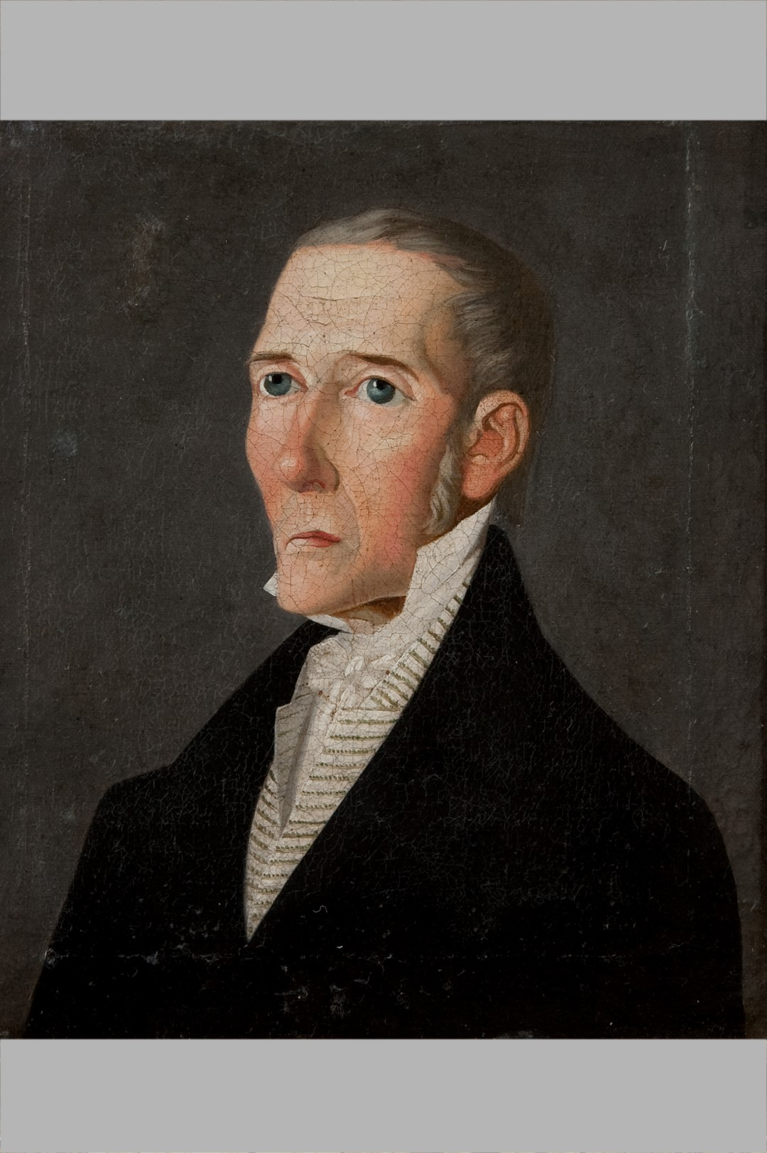 Image of A Naive Portrait of a Gentleman