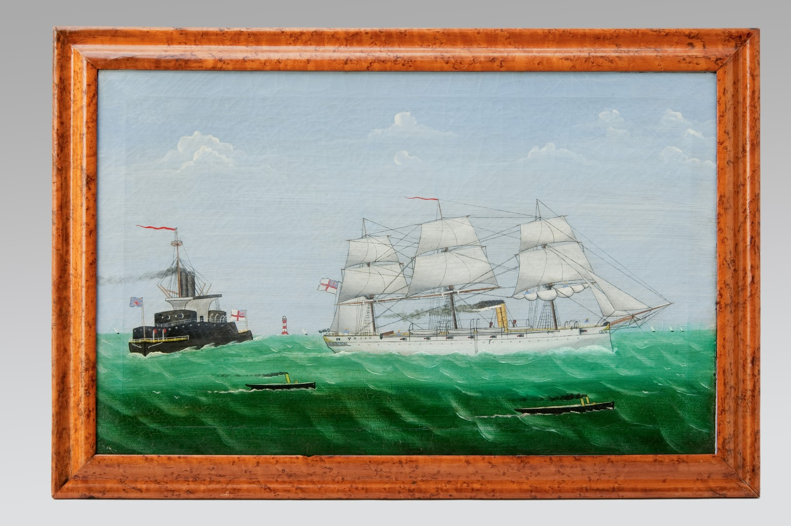 Image of Steam & Sail – Two Warships