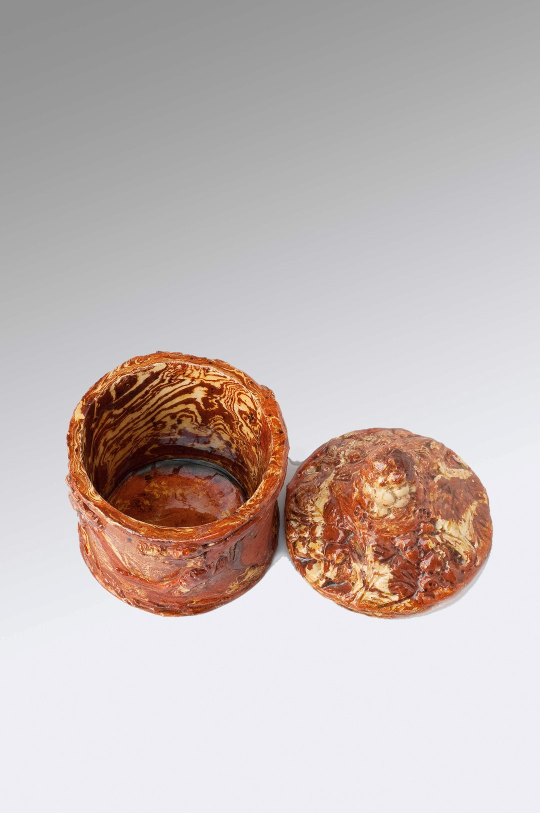 Image of Sussex Pottery <br>Tobacco Jar