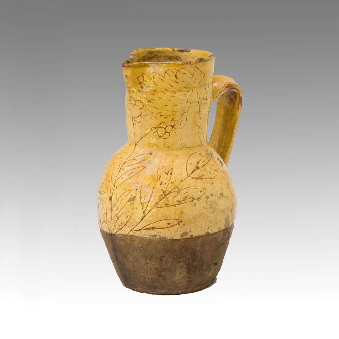 North Devon Slipware Pitcher