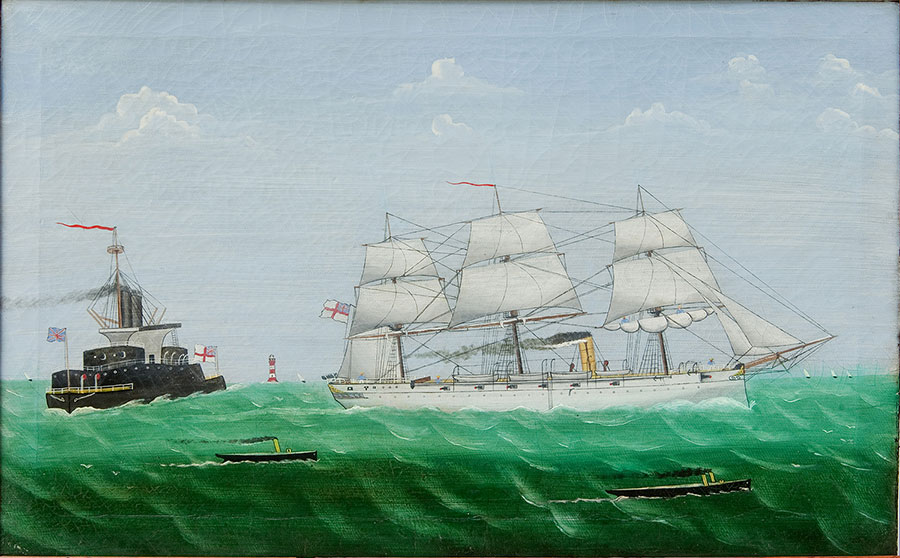 Steam-and-Sail---Two-Warships---Front-blog