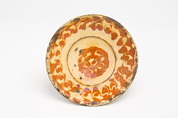 Slipware-Dish-18th-century