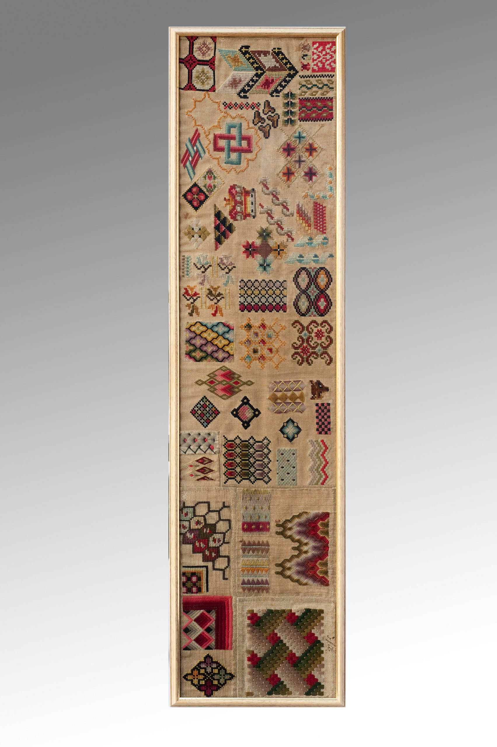 Image of A Mid 19th Century English Spot Sampler