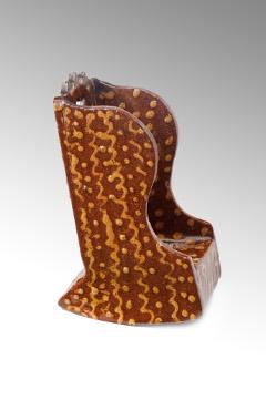 A Superb Slip-ware Rocking Chair 005sml