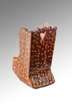 A Superb Slip-ware Rocking Chair 006sml