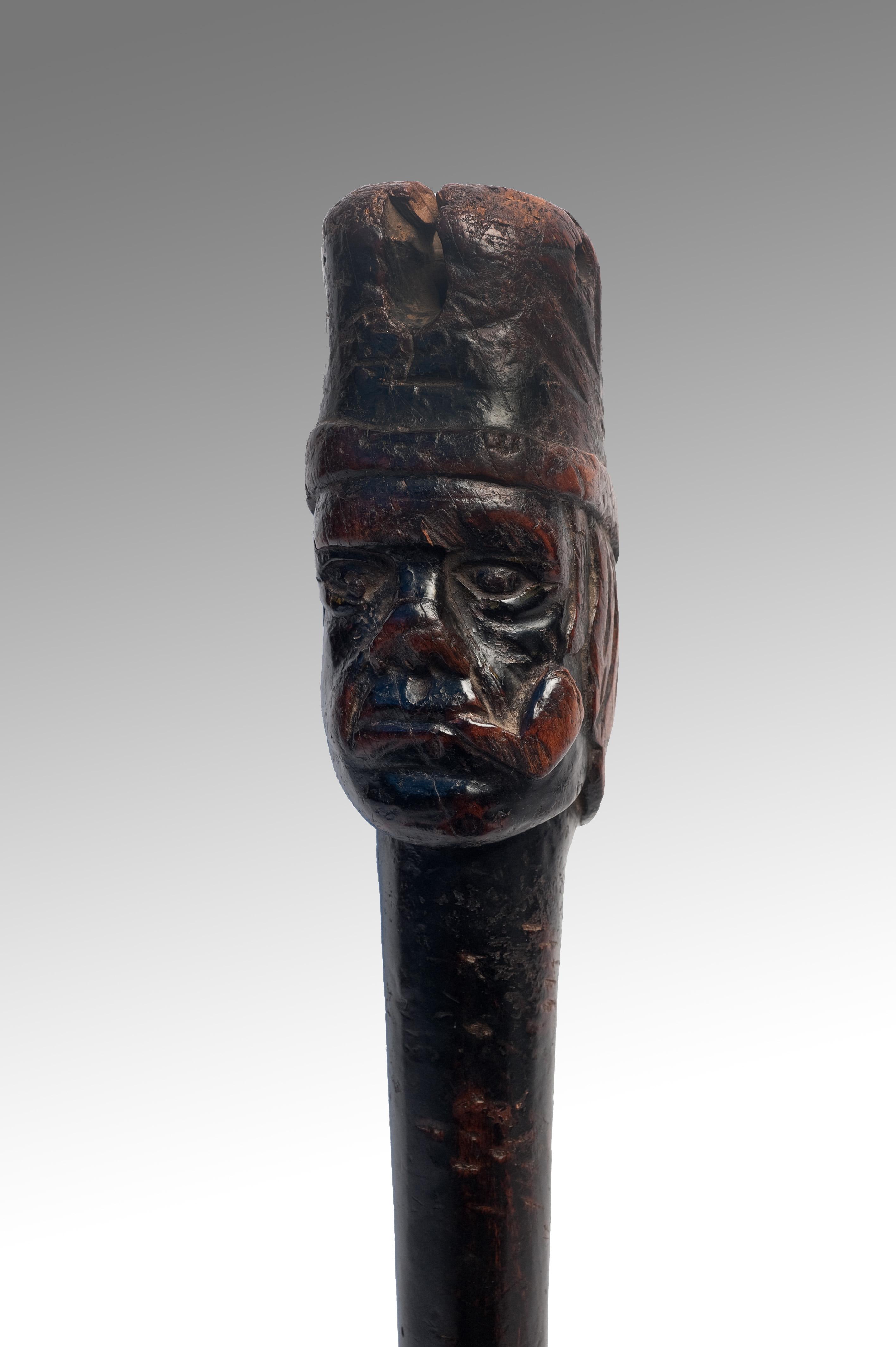 A Carved Sailor Made 19th Century Peg Leg Call Me Naive