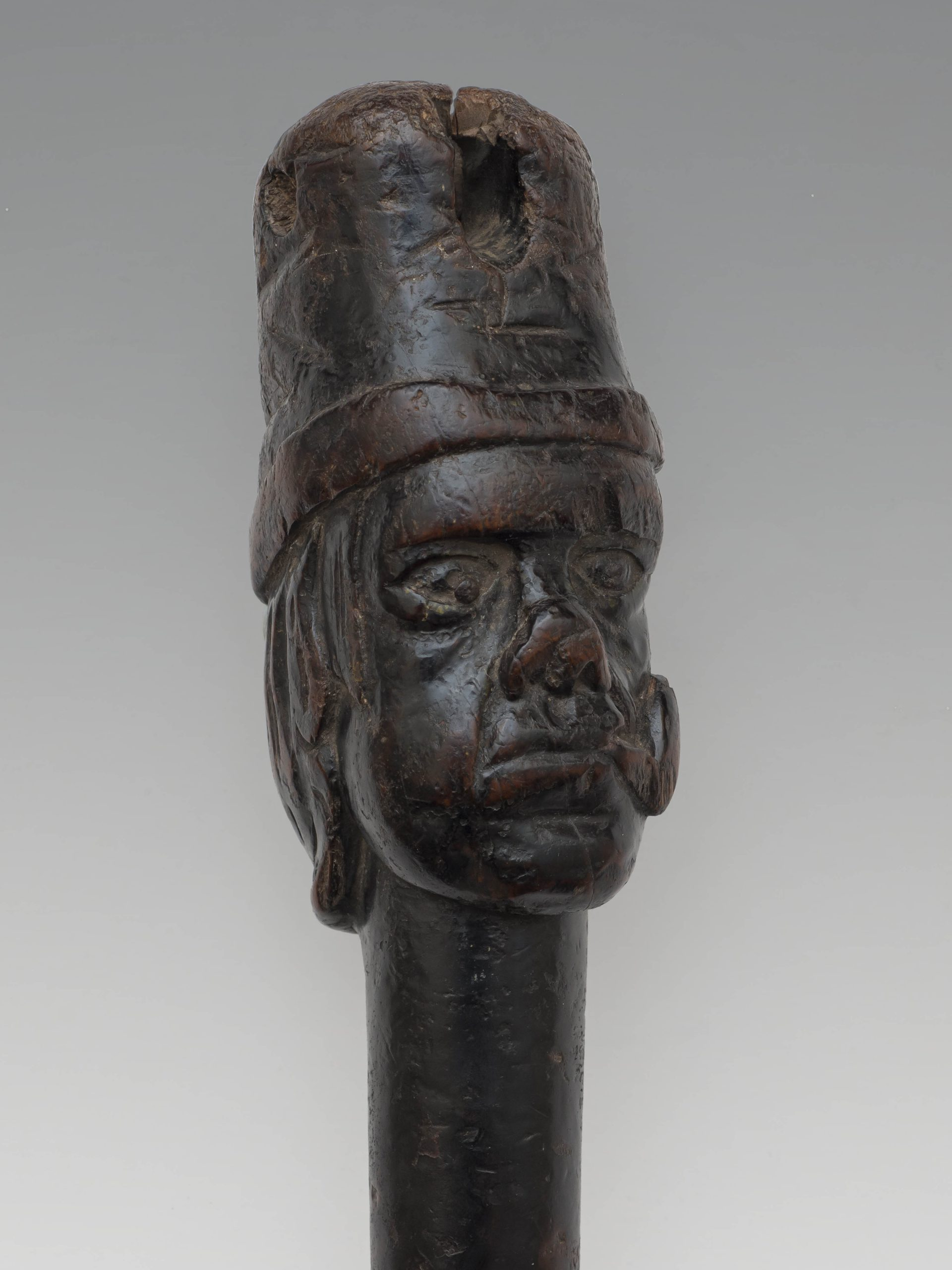 Image of Sussex Pottery <br>A Carved Sailor Made 19th Century Peg-Leg
