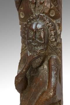 Elizabethan Oak Carving