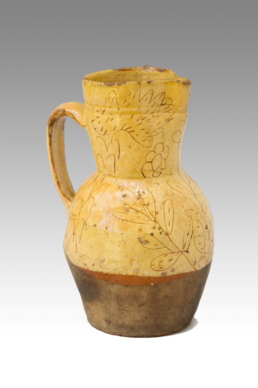 Slipware Pitcher from North Devon