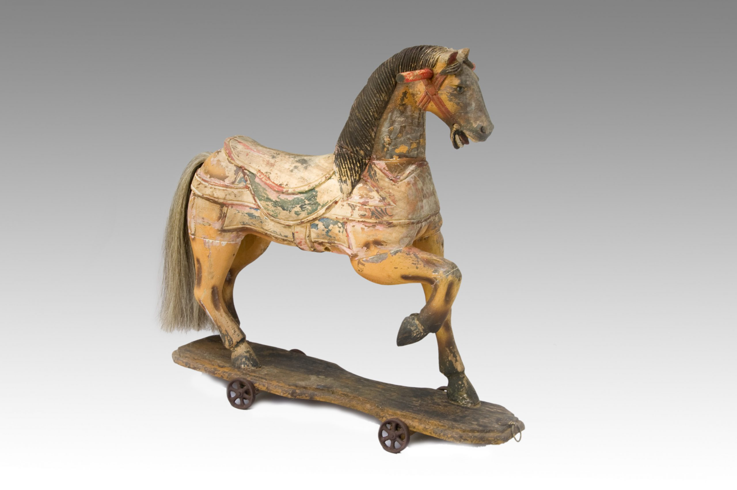 Image of A Carousel/Merry-go-round Horse