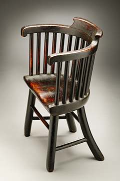 A Painted Child's Chair