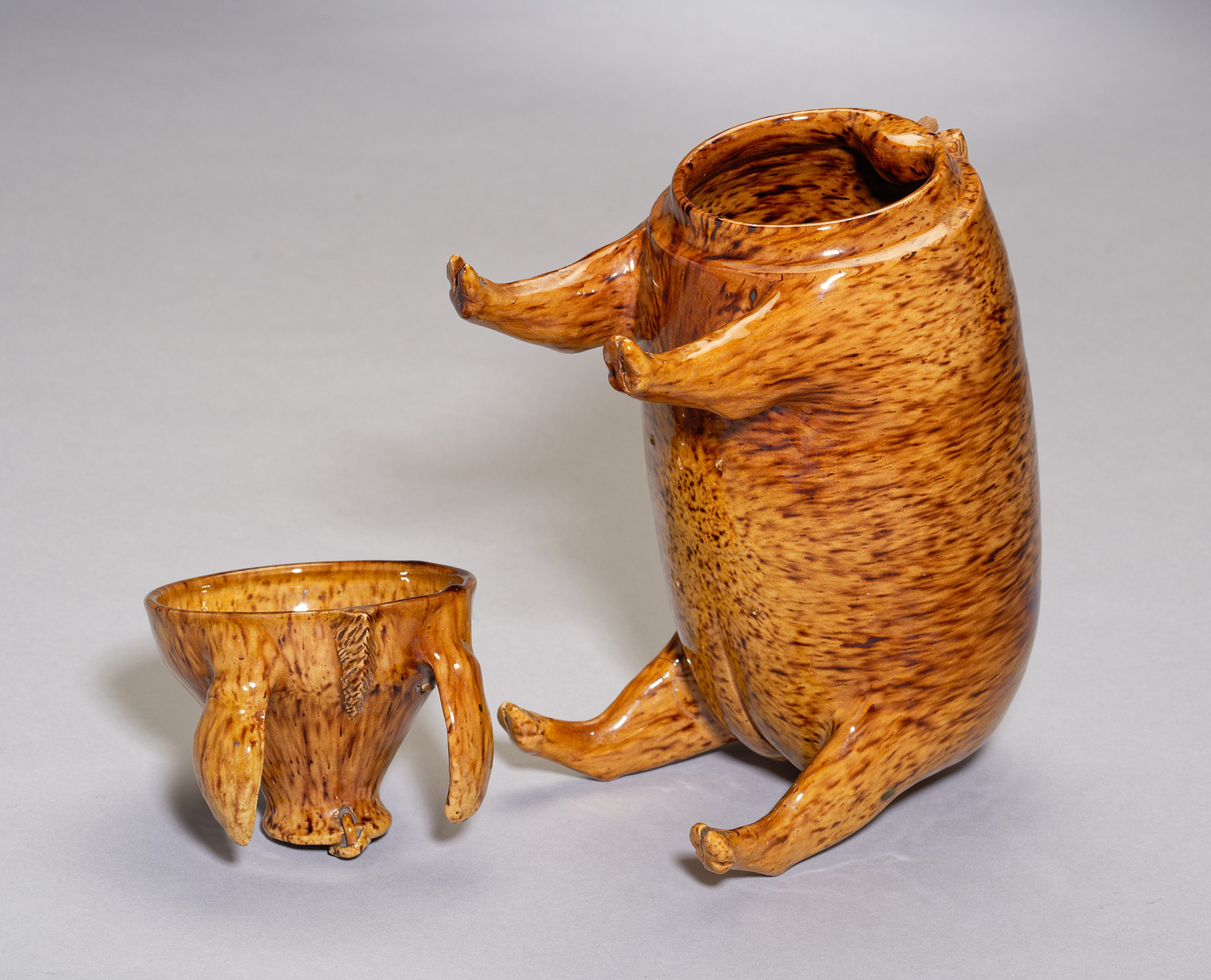 Image of Sussex Pottery <br>A Sussex Pig from Rye