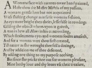 The 'Quarto' of Shake-speare's (S.20)
