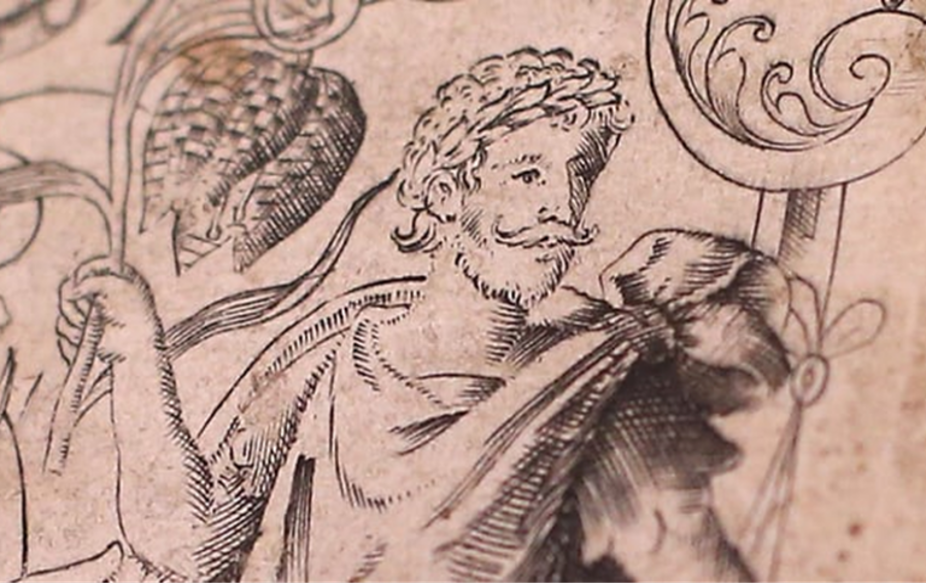 From the front-piece of John Gerard's 'Herbal' first published in 1597