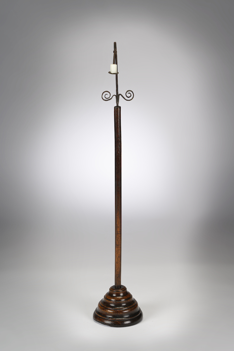 Image of A William & Mary Standing Rushlight