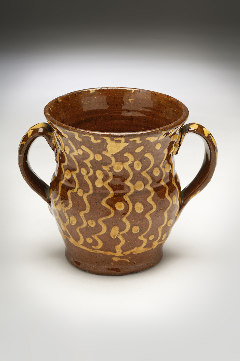 Image of Sussex Pottery <br>A Slipware Loving Cup